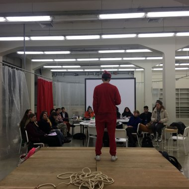 The Erotic as an Artistic Methodology, Ioanna Gerakidi, ASFA Lab12