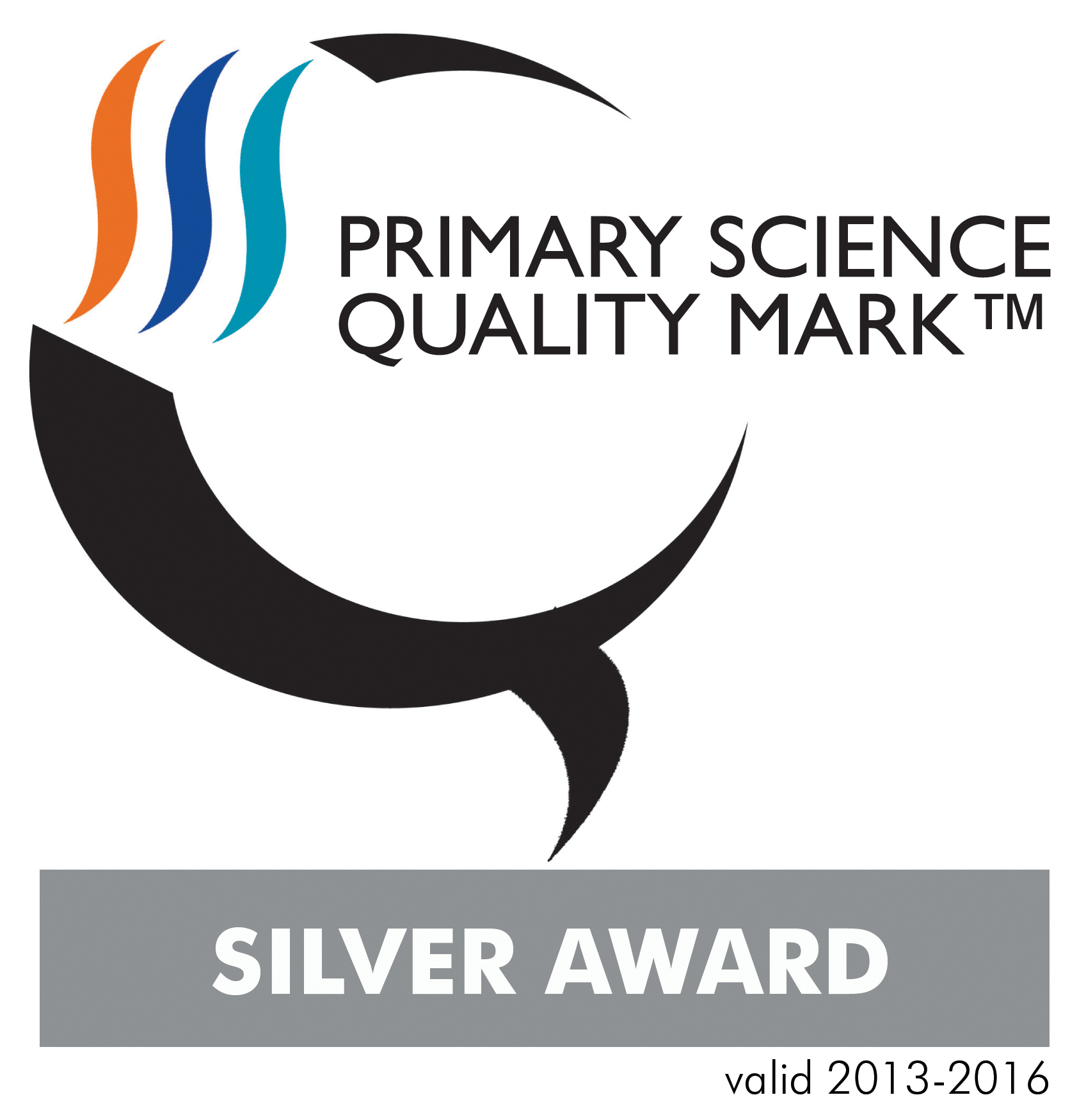 Silver Primary Science Quality Mark for Irchester