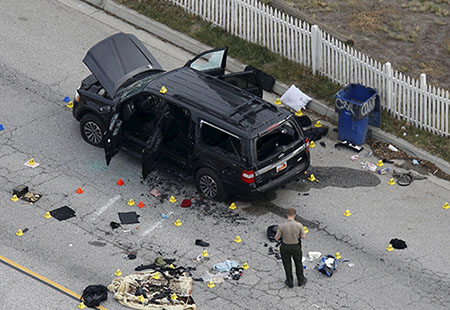 Un attacco terroristico uccide 14 persone e ne ferisce 22 a San Bernardino, California