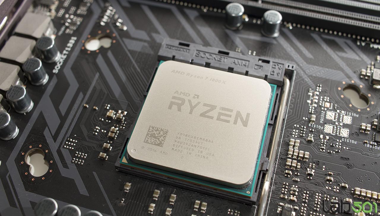 AMD Ryzen 7 1800X - Overclocking. DDR4 si NVMe - lab501