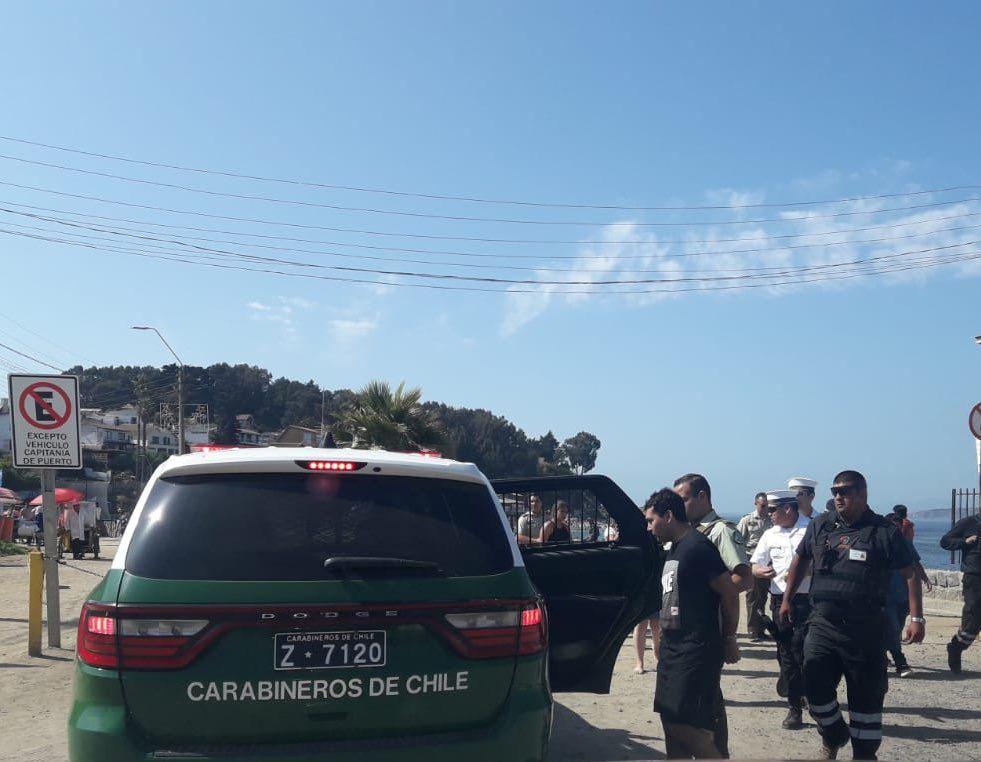 Playa El Durazno de Quintero