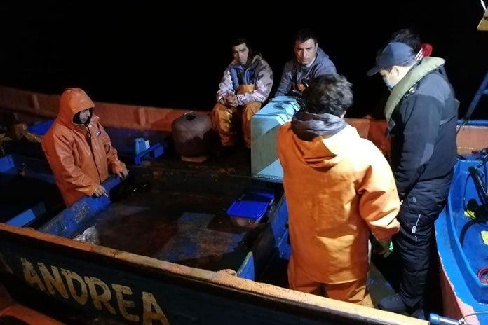 cinco pescadores