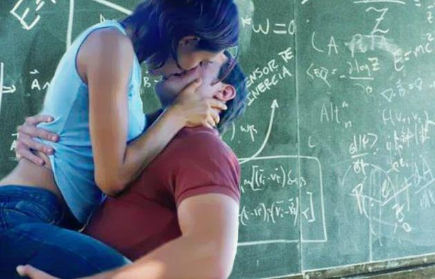 Relaciones sexuales en escuela