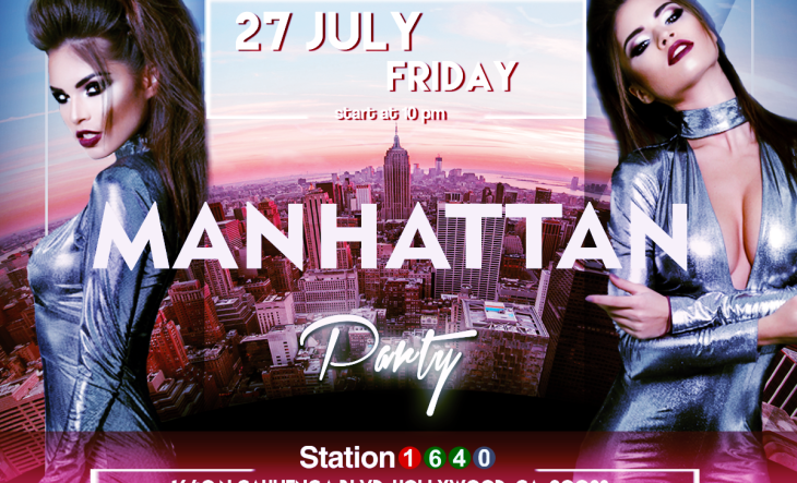 """Manhattan"" Party, July 27th"