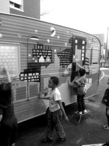 Les enfants du quartier Frébault