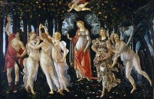 La Primavera, de Sandro Botticelli.
