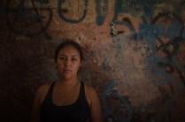 Ingrid Carbo, refugiada colombiana venida desde Popayán, lleva 4 años en el país y 2 en Las Colectivas. Foto: Vicente Gaibor del Pino