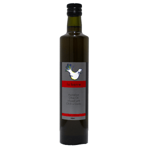olive oil infused-with-chilli-and-garlic