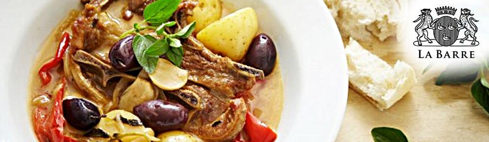 Mediterranean Style Braised Lamb