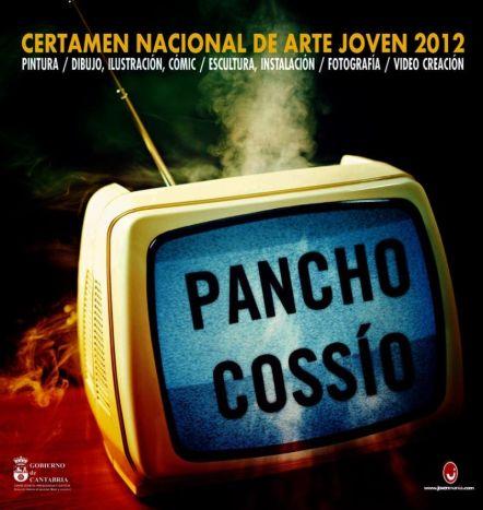 Cartel Certamen Nacional de Arte Joven Pancho Cossío 2012