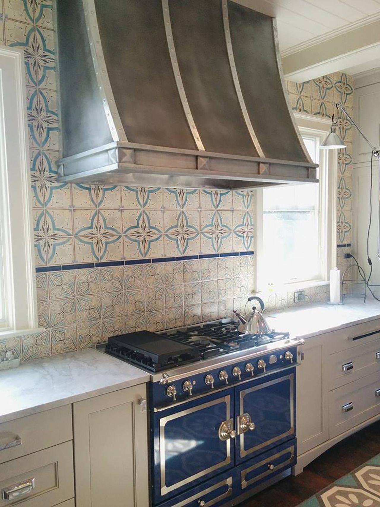countertops for kitchen freestanding cabinets zinc range hoods gallery - custom by la ...