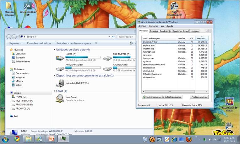 Matar Proceso Aero - Windows 7 (6/6)