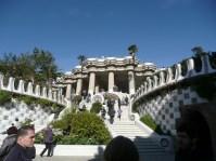 Escalinata entrada Park Güell