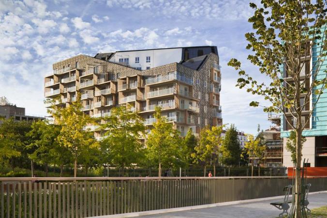 Logements sociaux et privés à Paris XVIIème de Périphériques Architectes