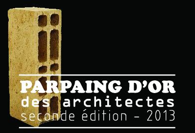Le parpaing d'or 2013 de l'architecte est attribué à...