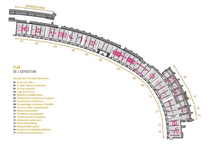 Plan de l'exposition