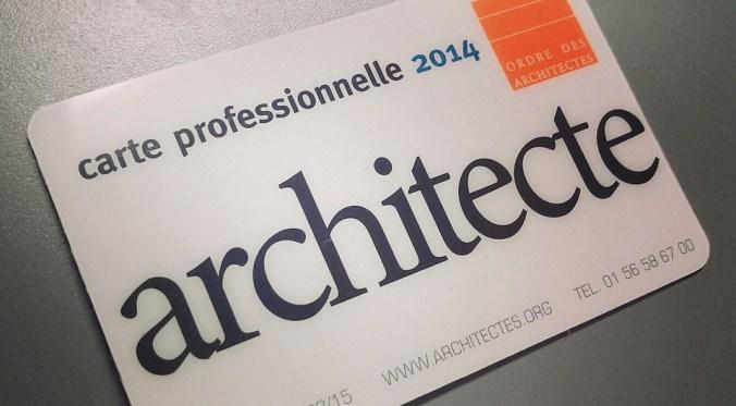 Architecte ?