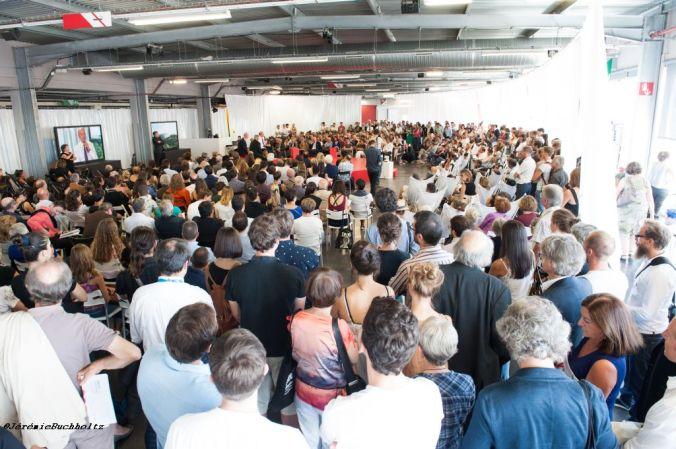 Débat lors de l'Agora 2014 à Bordeaux.