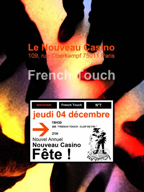 AK 10 : French Touch, clap de fin.