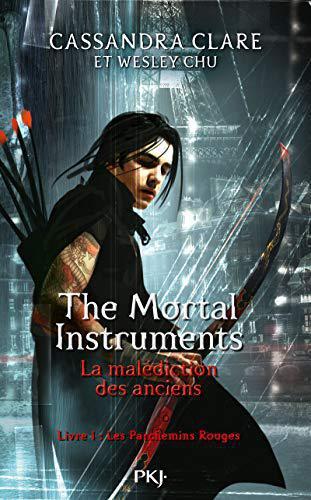 The Mortal Instruments Tome 1 : mortal, instruments, Mortal, Instruments, Malédiction, Anciens, Parchemins, Rouges, Clare,, Cassandra, Label, Emmaüs