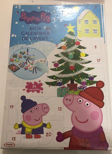 Calendrier De L'avent Peppa Pig : calendrier, l'avent, peppa, Calendrier, L'Avent-, Peppa, Label, Emmaüs