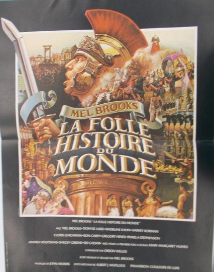 La Folle Histoire Du Monde : folle, histoire, monde, Petite, Affiche, FOLLE, HISTOIRE, MONDE