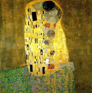 """""""Le baiser"""" (1909) de Gustav Klimt"""
