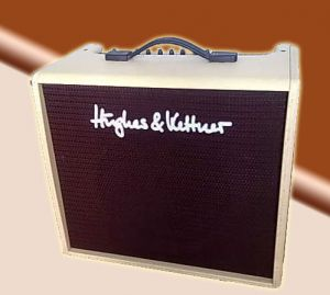 "Ampli guitare Hughes & Kettner version ""Blonde"""