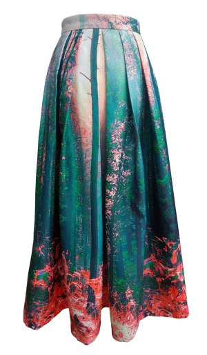 forest-print-maxi-skirt---front