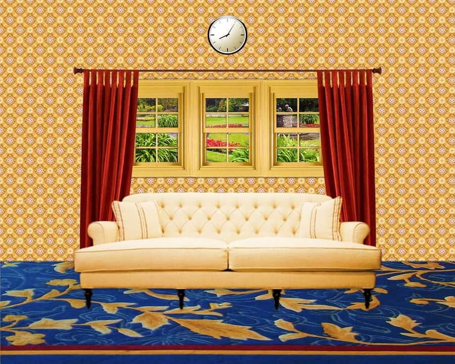 salon-living-room-decoration-papier-peint