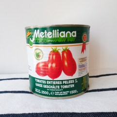 Hele tomaten zonder schil - Metelliana