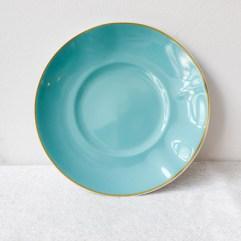 Porseleinen dessertbordje, lichtblauw - Rice