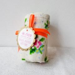 Wit handdoekje/servet - Rice