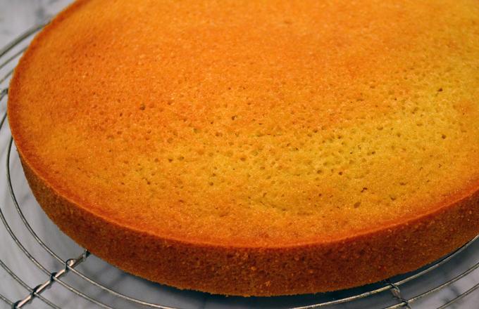 Maialino's Olive Oil Cake - La Bella Sorella Adaptation Cooling