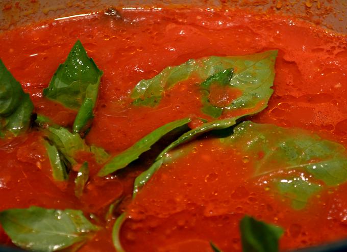 Marinara sauce | labellasorella.com