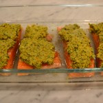 Salmone con Pistacchio e Limone Conservati – Salmon with Pistachio and Preserved Lemon
