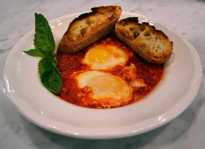 Uovo al Pomodoro ready to eat | labellasorella.com