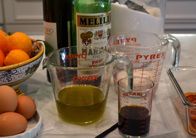 Ingredients for Pistachio Cake | labellasorella.com