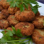 ggplant Polpette / Eggplant Meatballs, don't they look amazing | labellasorella.com