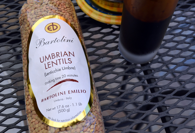 Umbrian Lentils, my absolute favorite; tiny & flavorful | labellasorella.com