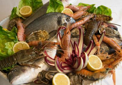 An example of the quality of fish and seafood at Ca Poggio | labellasorella.com