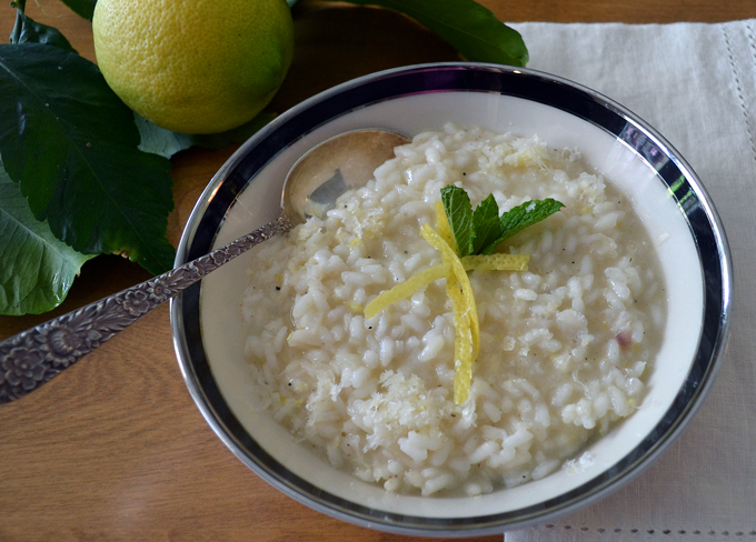 Lemon Risotto, che buono | labellasorella.com