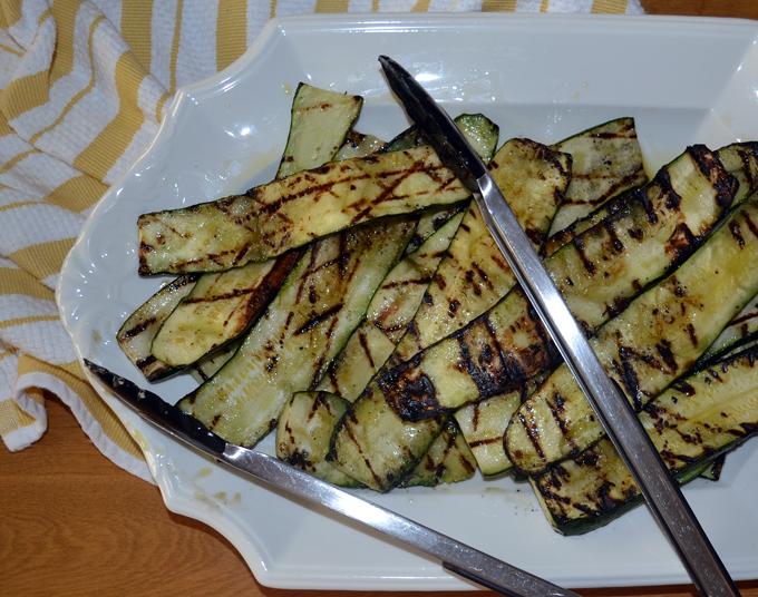 Grilled zucchini | labellasorella.com