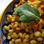 Cavatappi with Butternut Squash – Cavatappi con la Zucca