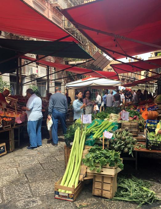 Capo Market, Palermo | labellasorella.com