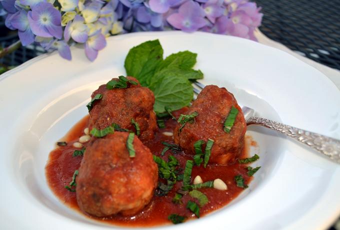 Sicilian Swordfish Polpette | labellasorella.com