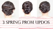3 easy spring prom updo tutorial