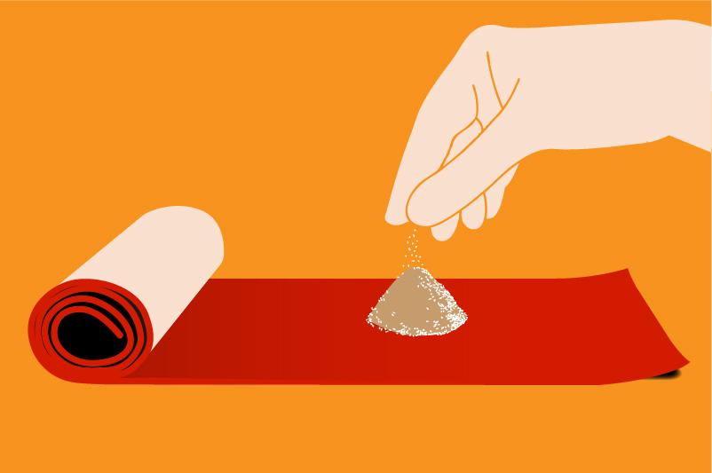 comment nettoyer vos tapis naturellement - Comment Raviver Les Couleurs D Un Tapis