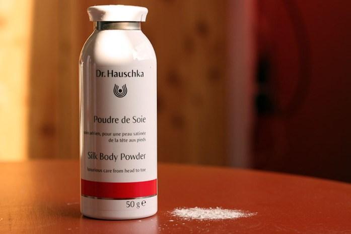 La poudre de soie Dr Hauschka