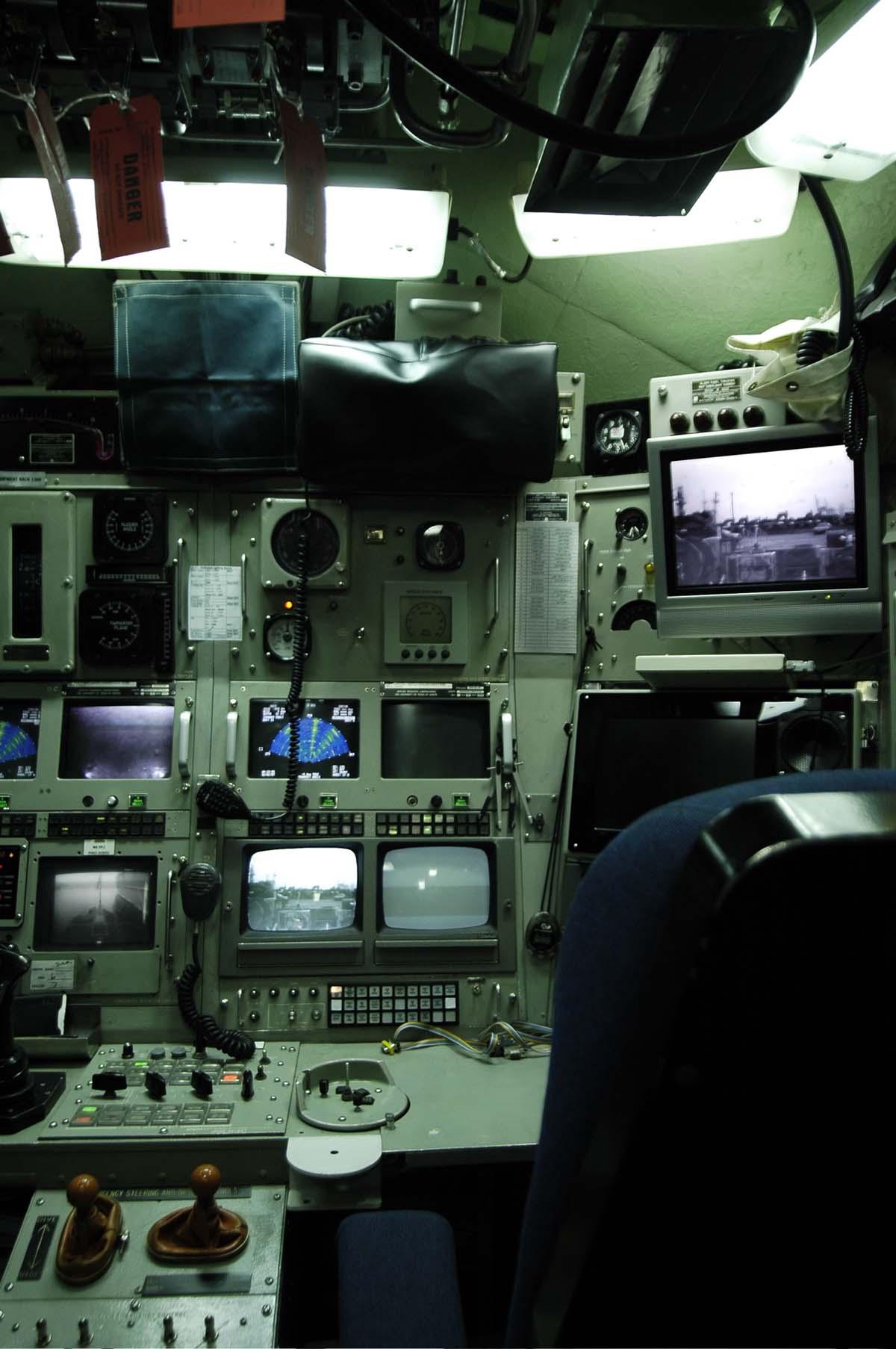 Sun S Submarine Interior